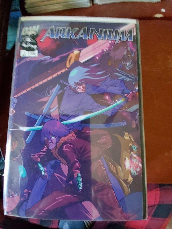Arkanium (CA) #1 (2002)