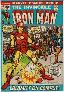 Iron Man #45, 2.0 or Better