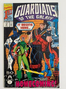 GUARDIANS OF THE GALAXY  #17 1991 MARVEL ''HOMECOMING: IT BEGINS HERE' ..NM