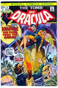 Tomb of Dracula(vol. 1) # 14
