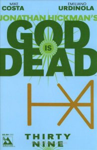 God Is Dead #39 VF/NM; Avatar | save on shipping - details inside