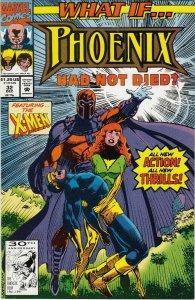 WHAT IF PHOENIX HAD NOT DIED #32 FN/VG THE X-MEN APP.  MARVEL COMICS