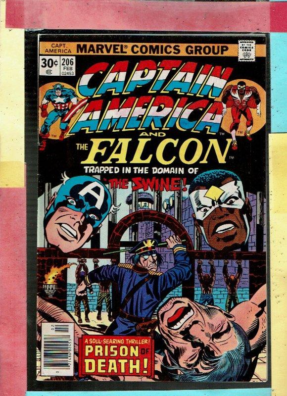 CAPTAIN AMERICA AND FALCON 206