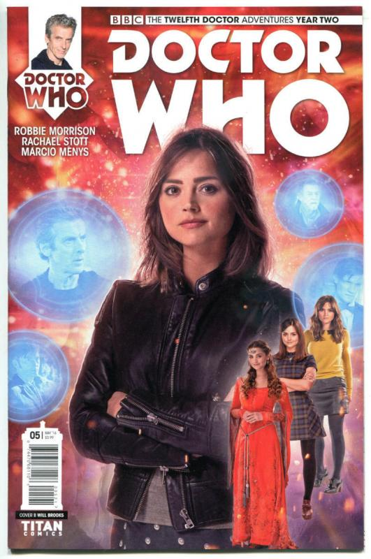 DOCTOR WHO #5 B, NM, 12th, Tardis, 2016, Titan, 1st, more DW in store, Sci-fi