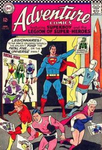 Adventure Comics (1938 series) #352, VG- (Stock photo)