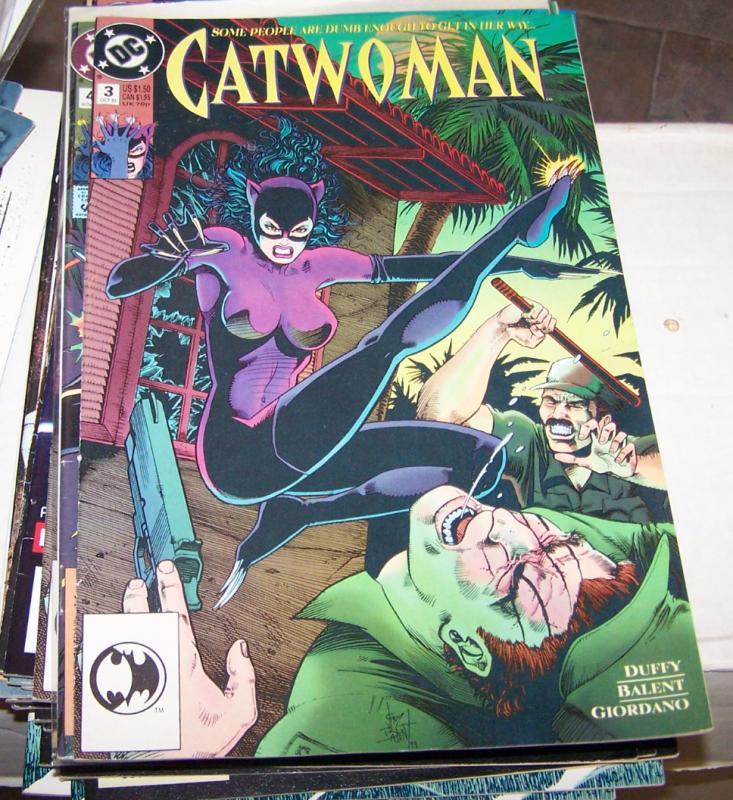 CATWOMAN  # 3 1993 DC selena kyle  batmans fiancee rebirth