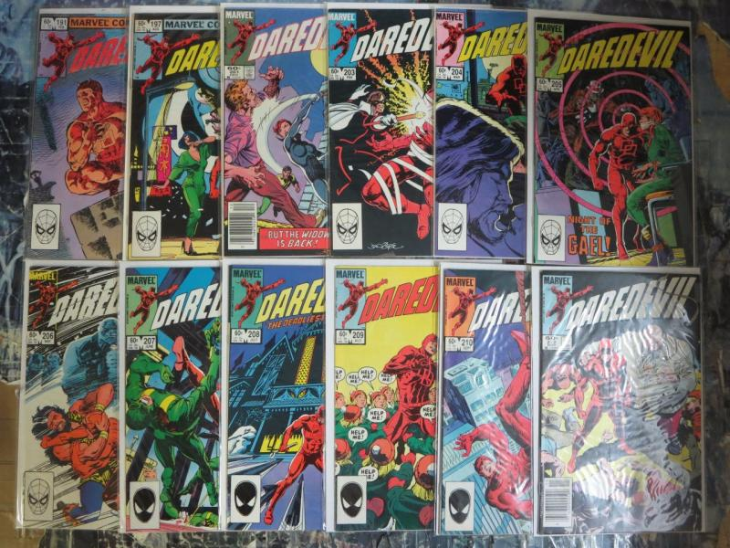 Daredevil Lot 65 Comics! Marvel Collector's Library! 191-317 Mixed (1983-1993)