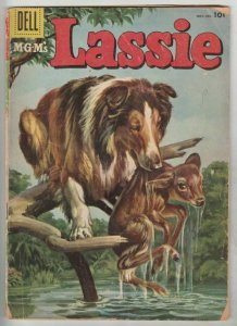 Lassie #31 (Nov-56) VG Affordable-Grade Lassie, Ranger Bob Ericson and Ranger...
