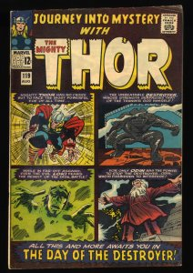 Journey Into Mystery #119 VG/FN 5.0 1st Hogun Fandrall and Volstagg!