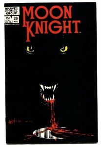 Moon Knight #29 comic book 1983-Werewolf (Jack Russell) appearance
