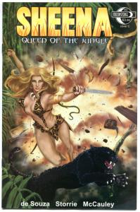 SHEENA QUEEN of the JUNGLE #3, NM-, Femme fatale,Moonstone, 2014,more in store,C