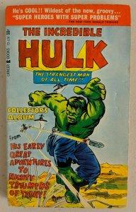 The Incredible Hulk Collectors Alumb Paperback 1966 Lancer Books