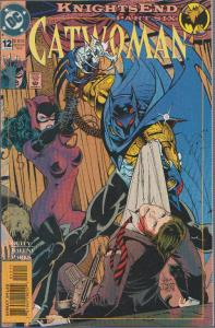 CATWOMAN #12 - KNIGHTS END -  DC, BAGGED & BOARDED