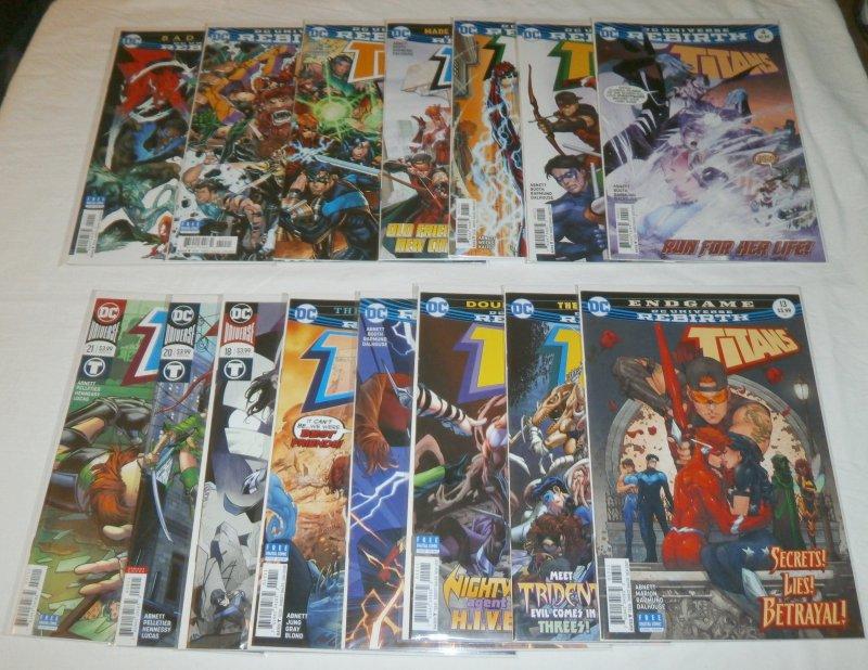 Titans   vol. 3   #4,5,7-10,12-18,20,21 Rebirth (set of 15)