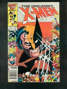 X-MEN #211 1986-MARVEL-HIGH GRADE VF