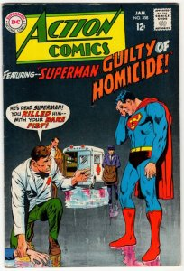 ACTION COMICS #358 Higher Grade Silver Age DC