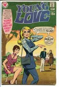 YOUNG LOVE #82-DC ROMANCE-GOOD ISSUE-GREAT COVER VG