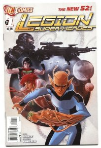 Legion of Super-Heroes #1 2011 DC New 52 first issue NM-