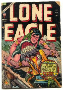 Lone Eagle #4 1954-Golden Age Western comic G/VG