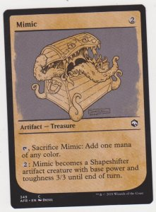 Magic the Gathering: Adventures in the Forgotten Realms - Mimic Showcase