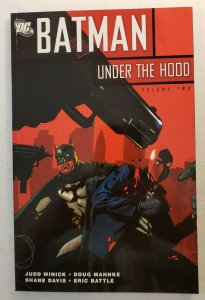 BATMAN UNDER THE HOOD VOL.2 FIRST PRINT TPB SOFT COVER GRAPHIC NOVEL