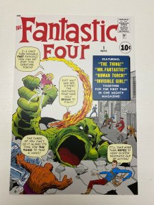 Fantastic Four #1 Marvel Comics poster by Jack Kirby