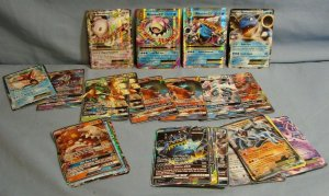 BIG LOT 38 POKEMON EX GX BREAK HOLO TCG CARDS RARE STARTERS LEGENDARY FULL ART!!