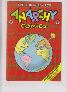 Anarchy Comics #1 FN (2nd) print - melinda gebbie - gilbert shelton - spain 1980