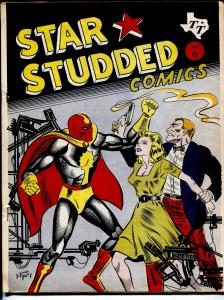 Star Studded Comics #6 1965-Texas Trio-D Bruce Berry-Biljo White-Blade-G