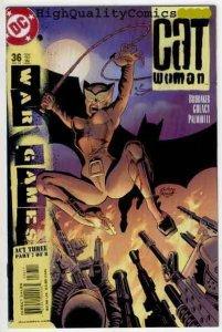 CATWOMAN #36, NM+, Batman, Ed Brubaker,Femme Fatale, 2002, more CW in store