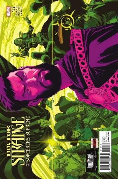 Doctor Strange and the Sorcerers Supreme #12, NM + (Stock photo)