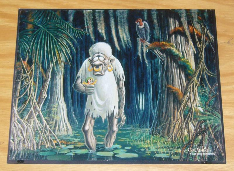 Carl Barks photo print - 8 x 10 - bombie the zombie (from painting #25)