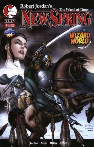 Wheel of Time, The: New Spring Special #1A VF/NM; Red Eagle | save on shipping -
