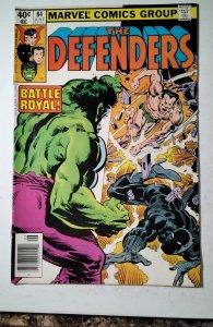 The Defenders #84 (1980) Marvel Comic Book J757