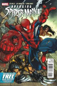 Avenging Spider-Man #1, NM + (Stock photo)