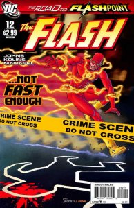 Flash, The (3rd Series) #12A VF/NM; DC | save on shipping - details inside