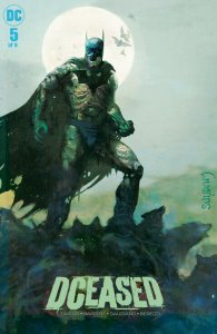 DCEASED #5 Arthur Suydam BATMAN  variant cover! NM! classic