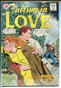 Falling In Love #40 1961-DC-love triangle-spicy romance art-FR/G