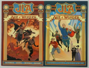JLA: Age of Wonder #1-2 VF/NM complete series - P. Craig Russell - DC elseworlds