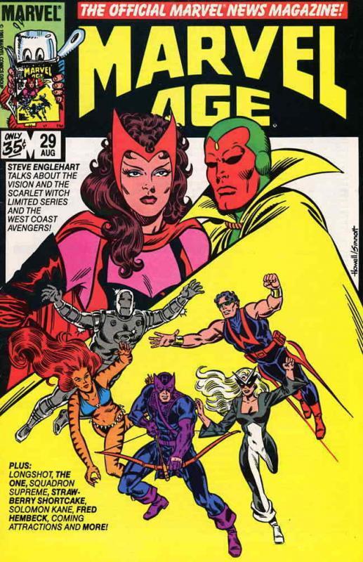 Marvel Age #29 VF/NM; Marvel | save on shipping - details inside
