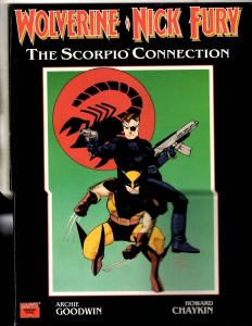 Scorpio Connection Marvel Graphic Novel Feat Wolverine Nick Fury Comic Book CR61
