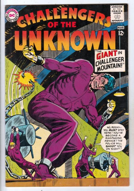 Challengers of the Unknown #36 (Mar-64) NM/NM- High-Grade Challengers of the ...