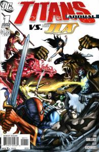 Titans (3rd Series) Annual #1 VF/NM; DC | save on shipping - details inside