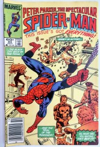 Peter Parker, Spectacular Spider-Man #83 RARE MARK JEWELERS EDITION