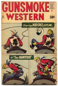 Gunsmoke Western  #67 1961- Kid Colt- Jack Kirby VG+
