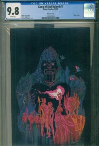 Kong of Skull Island #5 CGC 9.8 NM/MINT Virgin Variant New Movie Coming HIGHEST