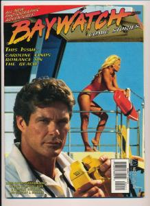 BAYWATCH Comic Stories #2 David Hasselhoff / Pamela Anderson ~ VF (D01)