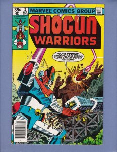 Shogun Warriors #3 FN Herb Trimpe Marvel 1979