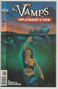 VAMPS #4 - HOLLYWOOD & VEIN - DC VERTIGO - BAGGED & BOARDED