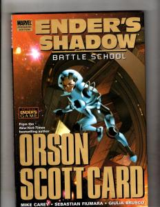 Ender's Shadow Battle School Marvel Comics HARDCOVER Graphic Novel Book J335